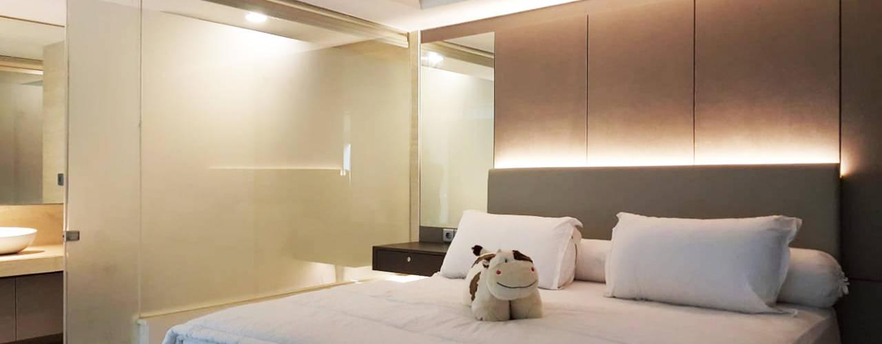Projekty,  Sypialnia zaprojektowane przez Likha Interior