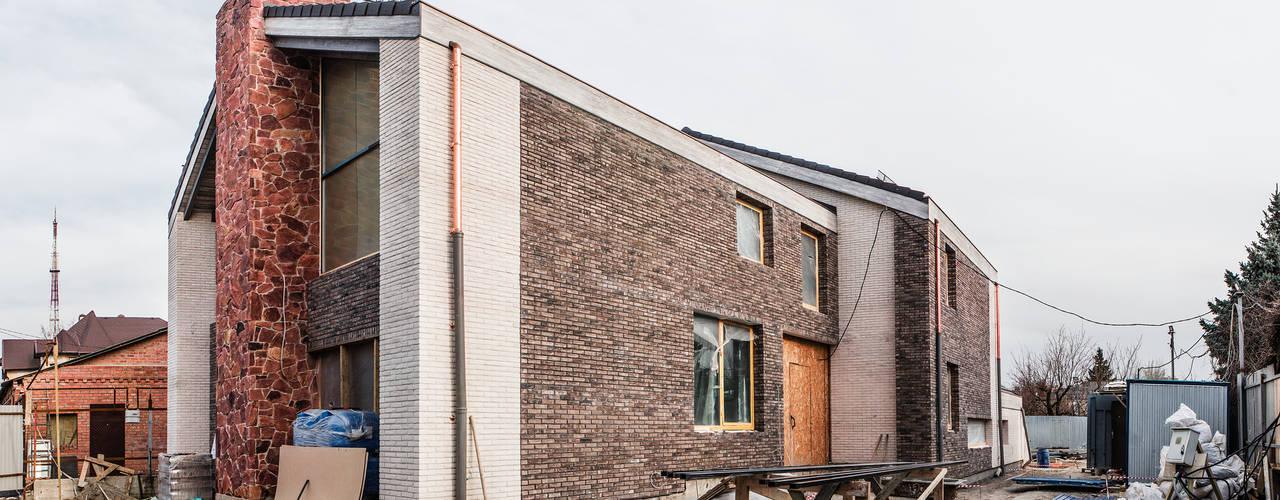 Projekty,  Domy zaprojektowane przez Архитектурная студия Чадо