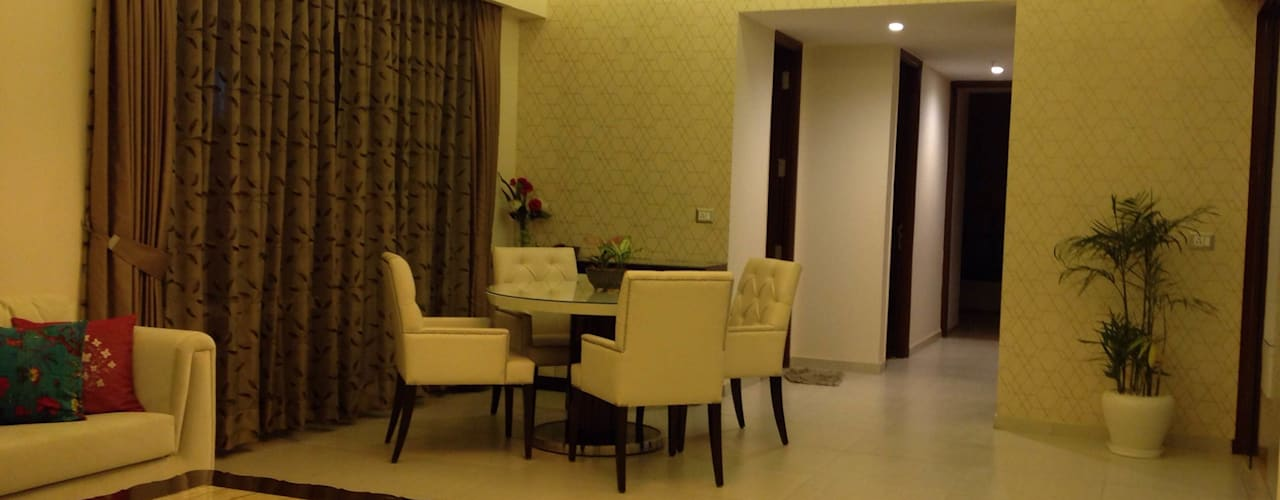 Residence @ Ireo Uptown Gurgaon:   by INTROSPECS