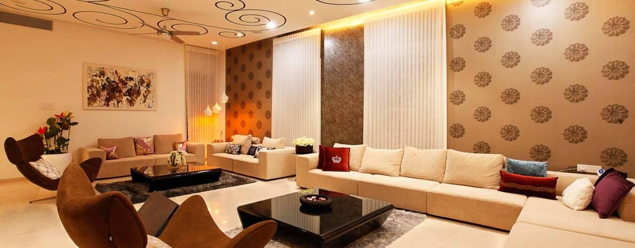 Nemi Villa Modern living room by Innerspace Modern
