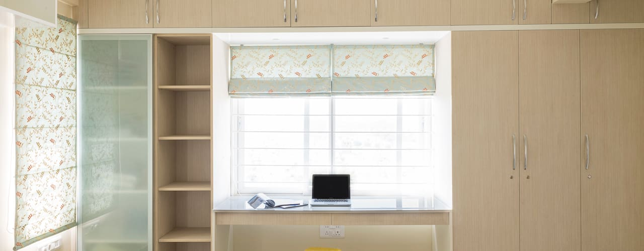 Anil DP: modern Study/office by Designasm Studio