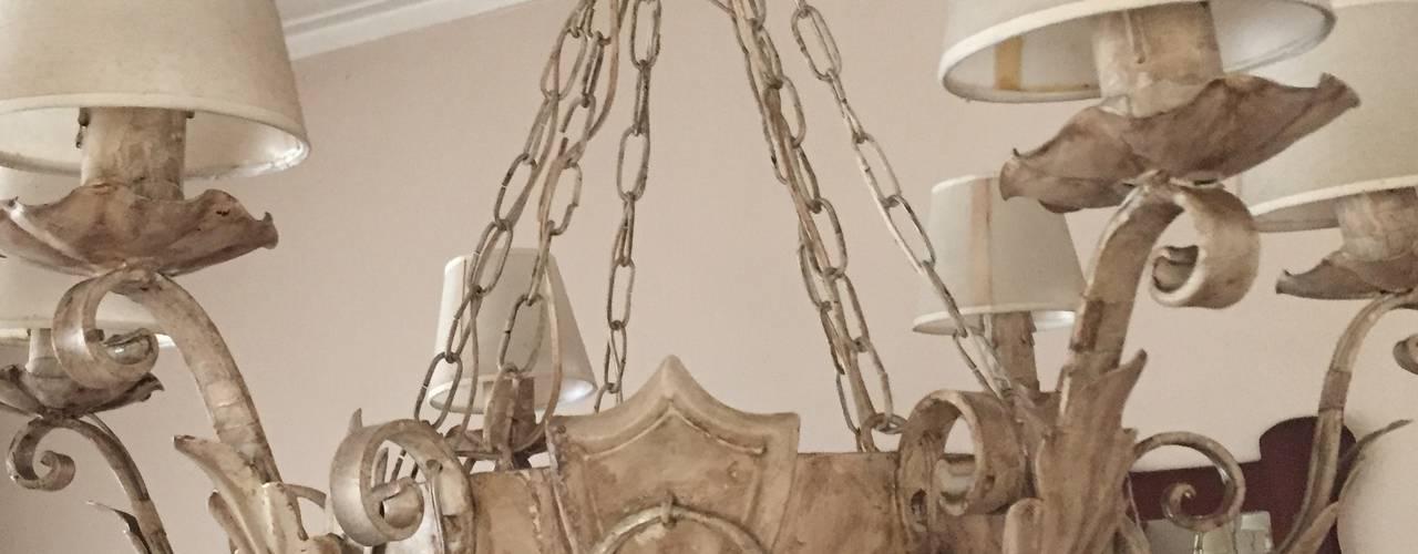 Reciclado en panel de madera Salones clásicos de ANADECO - Decoradora y Diseñadora de Interiores - La Plata Clásico