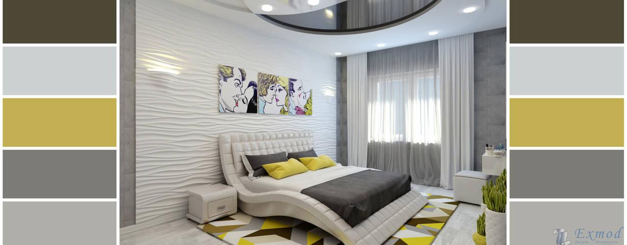 Bedroom by Цунёв_Дизайн. Студия интерьерных решений., Modern