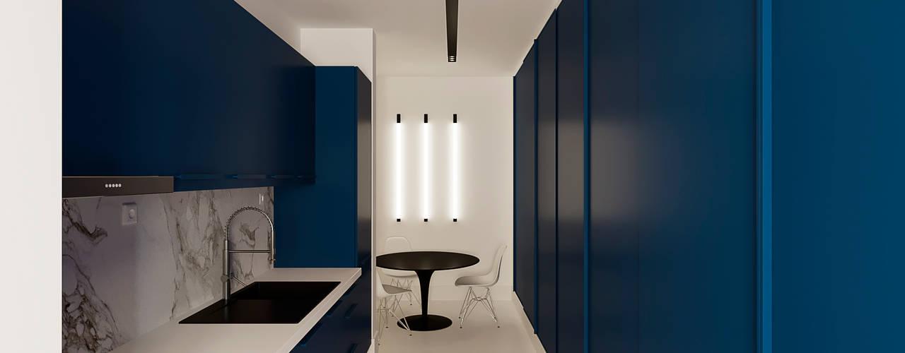 Casa XXS Cozinhas minimalistas por Makers Embassy Minimalista