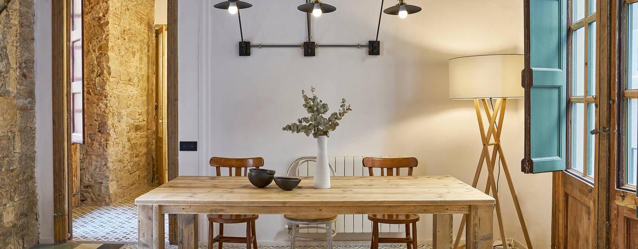ROSIC APARTMENT Bloomint design Phòng ăn phong cách Địa Trung Hải