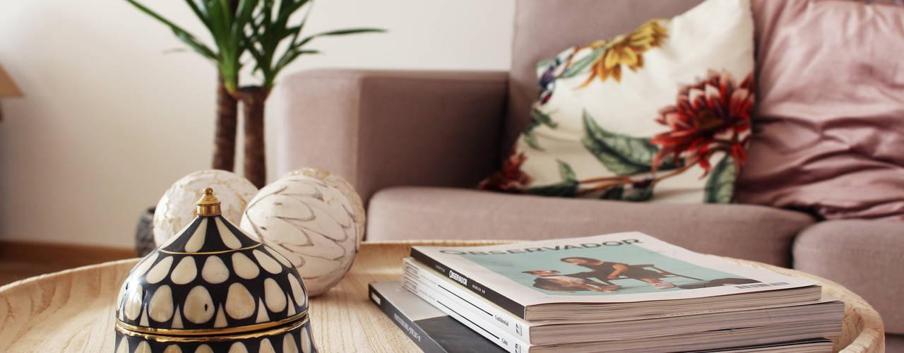 Casa Millennial Pink Rima Design Sala de estarAcessórios e Decoração