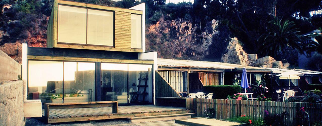 Casa Pazols de m2 estudio arquitectos - Santiago Moderno