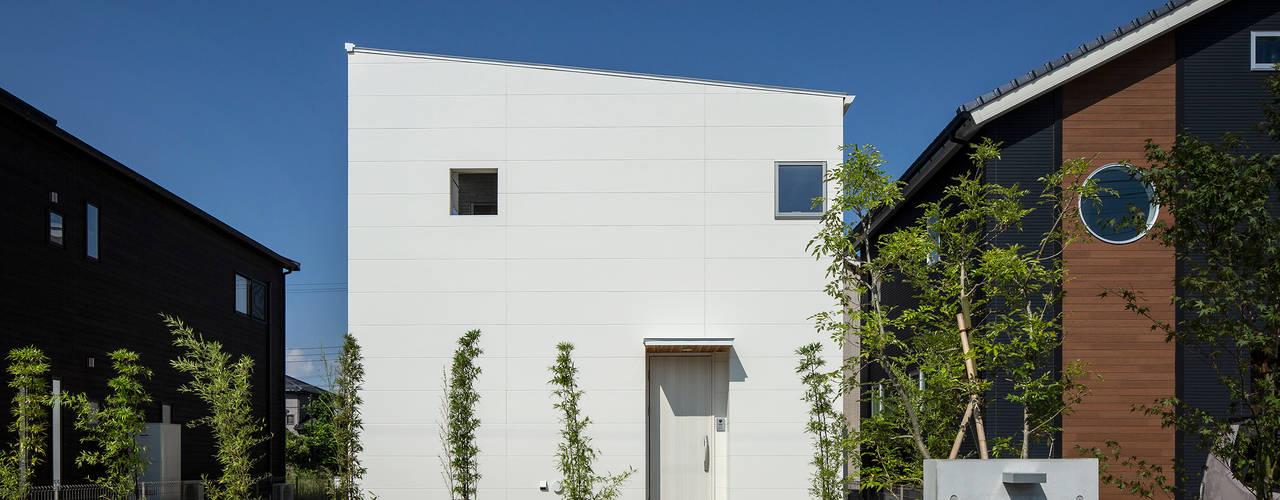 松岡淳建築設計事務所 Casa unifamiliare