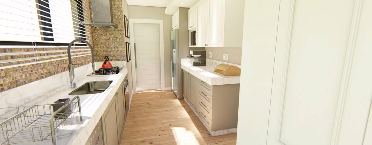 Modern Kitchen by MHC arquitetura Modern