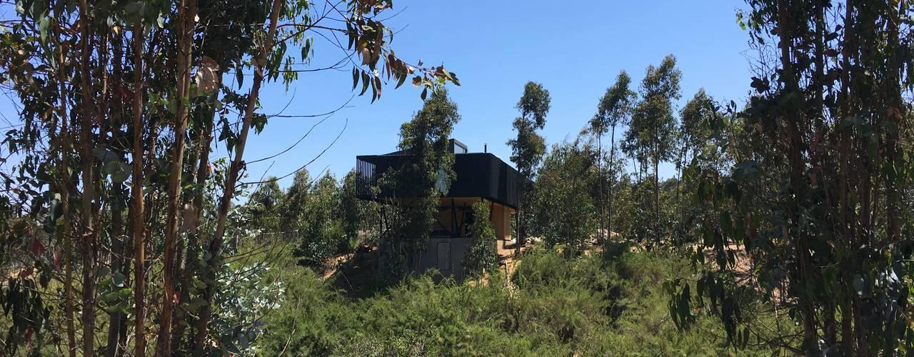 Casa QV m2 estudio arquitectos - Santiago Casas de madera