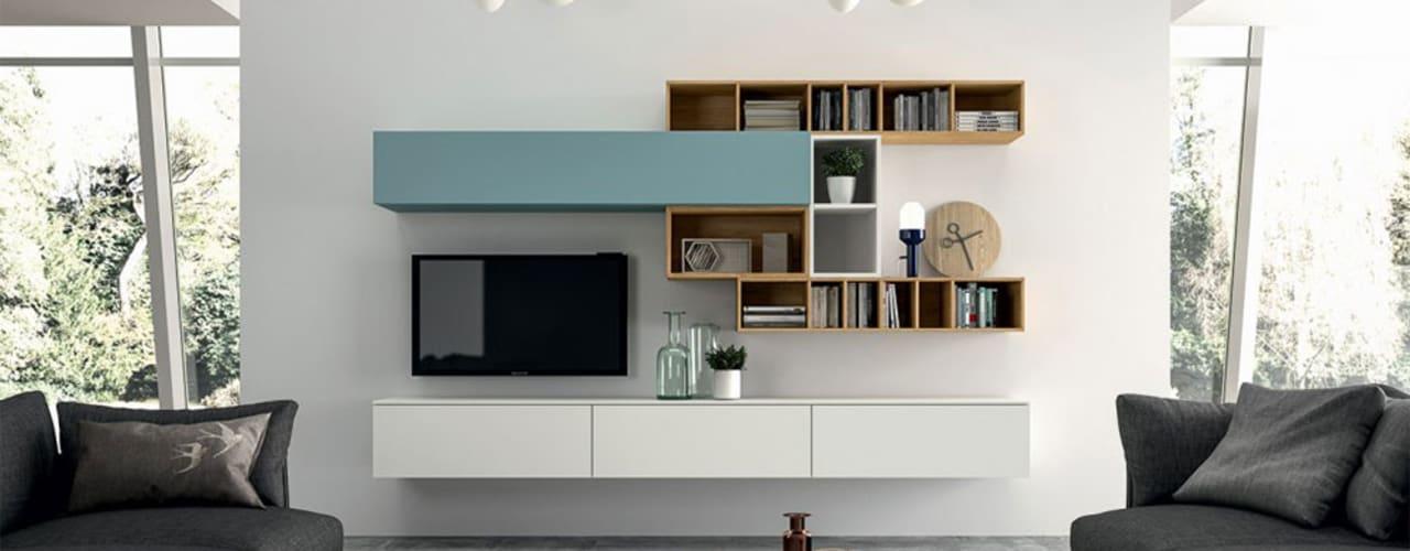 arredamento soggiorno moderno in trentino alto adige