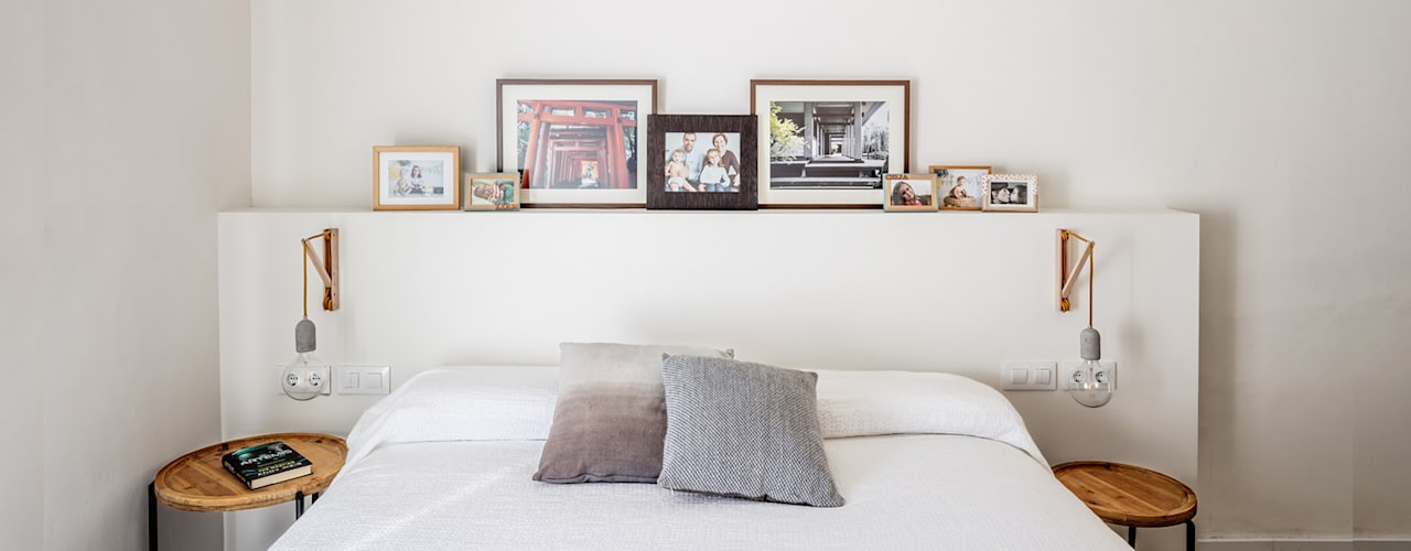 068. HOUSE - ST CRISTOFOL: Dormitorios de estilo  de Abrils Studio