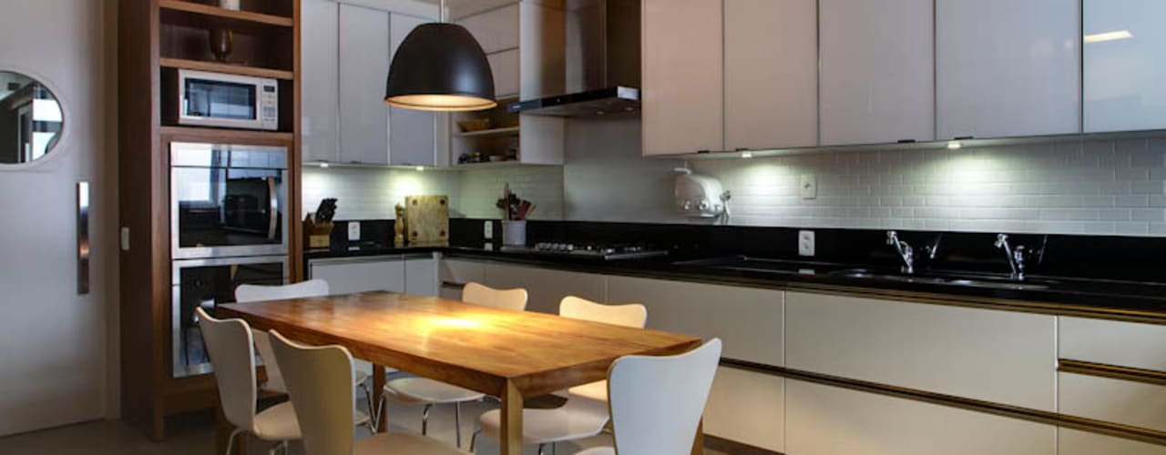 Raquel Junqueira Arquitetura Modern kitchen