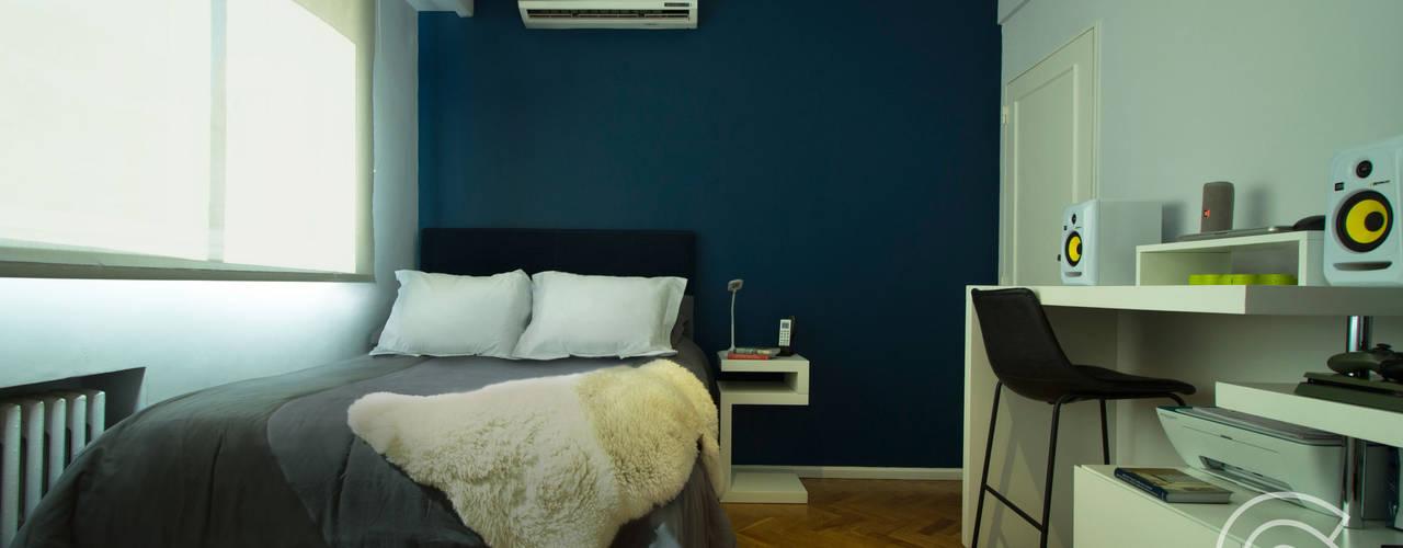 Proyecto Habitación Cerviño Dormitorios modernos: Ideas, imágenes y decoración de Estudio Equilibrio Moderno