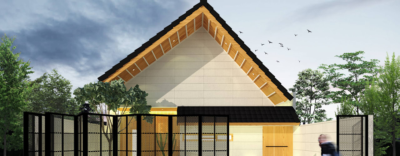 SEKALA Studio Single family home Bricks Wood effect