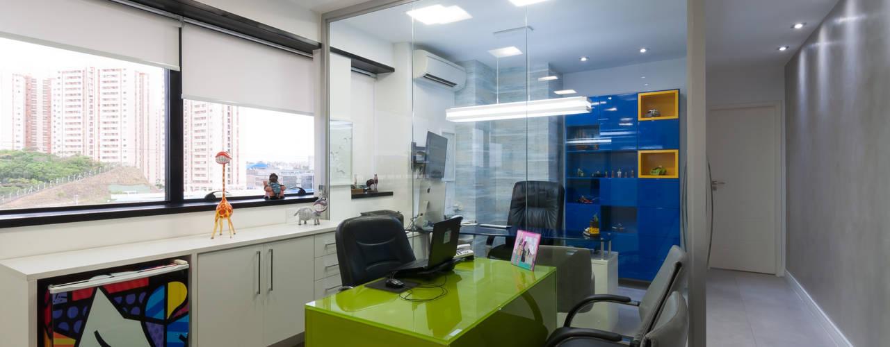 Projeto - Escritório de publicidade - Designers em Salvador: Escritórios  por Bernal Projetos - Arquitetos em Salvador