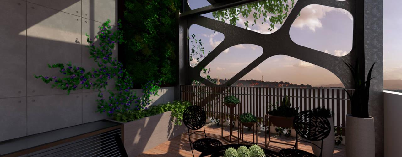 豐原節能綠建築 根據 台中室內建築師|利程室內外裝飾 LICHENG 現代風