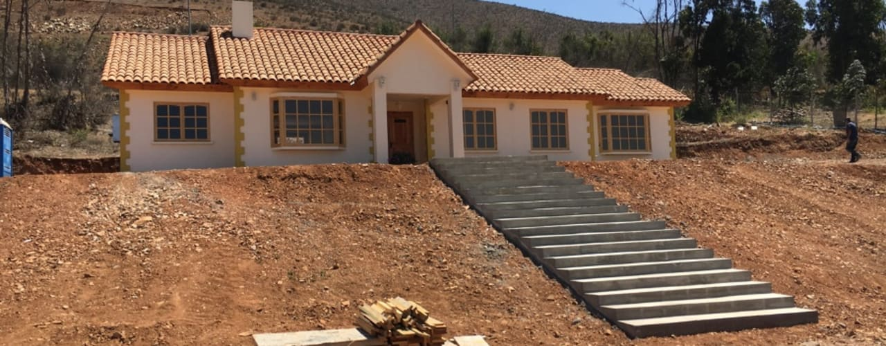 CASA ANA THEZA: Casas de estilo colonial por VASGO