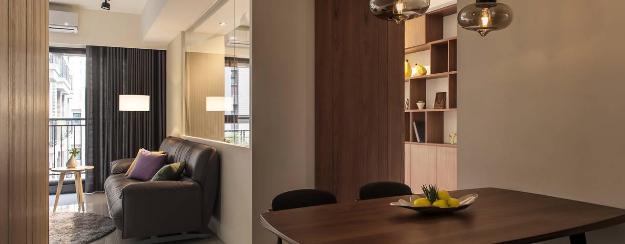 靜墨:  餐廳 by 詩賦室內設計