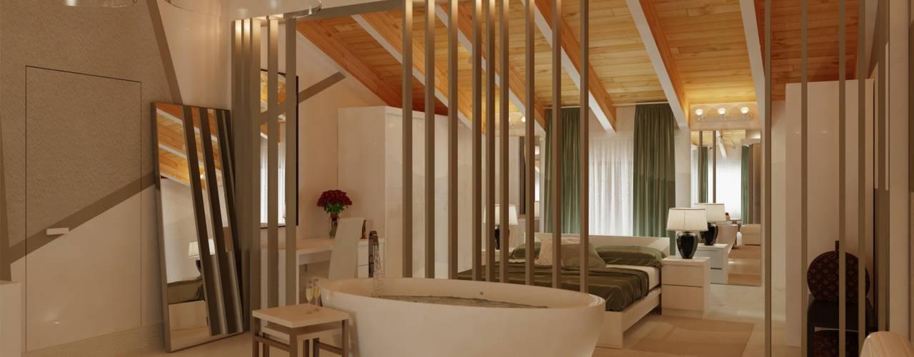 #06 - Nuovi Imprenditori Il Migliore Architetto Camera da letto moderna Verde