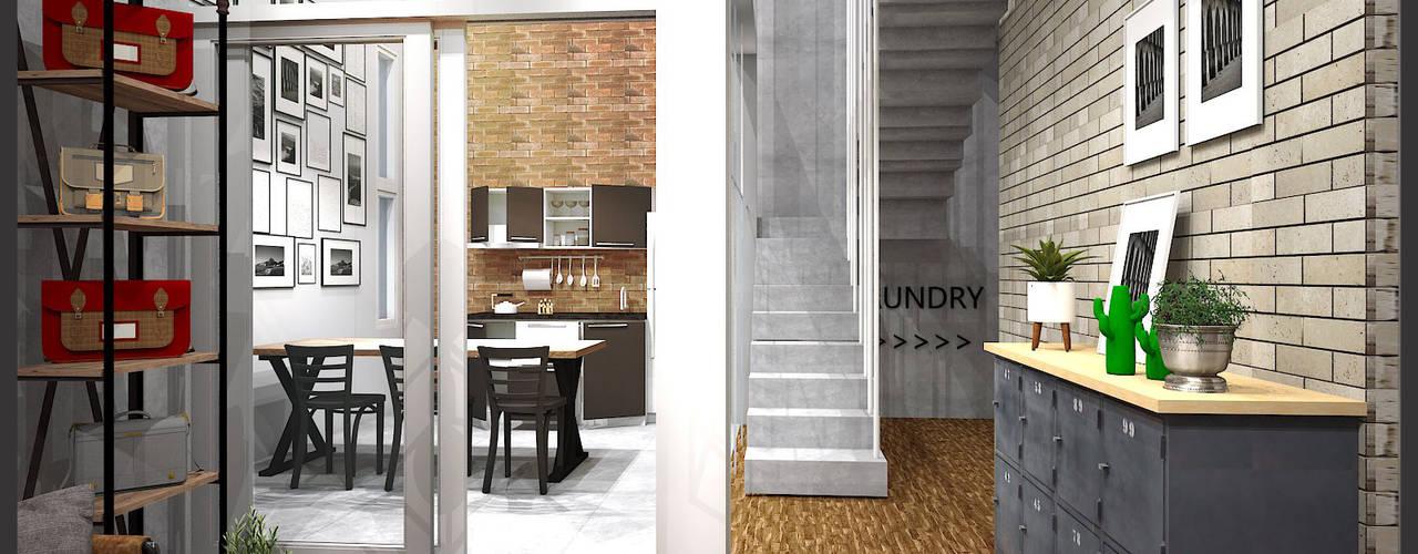 Koridor & Tangga Minimalis Oleh CV Leilinor Architect Minimalis