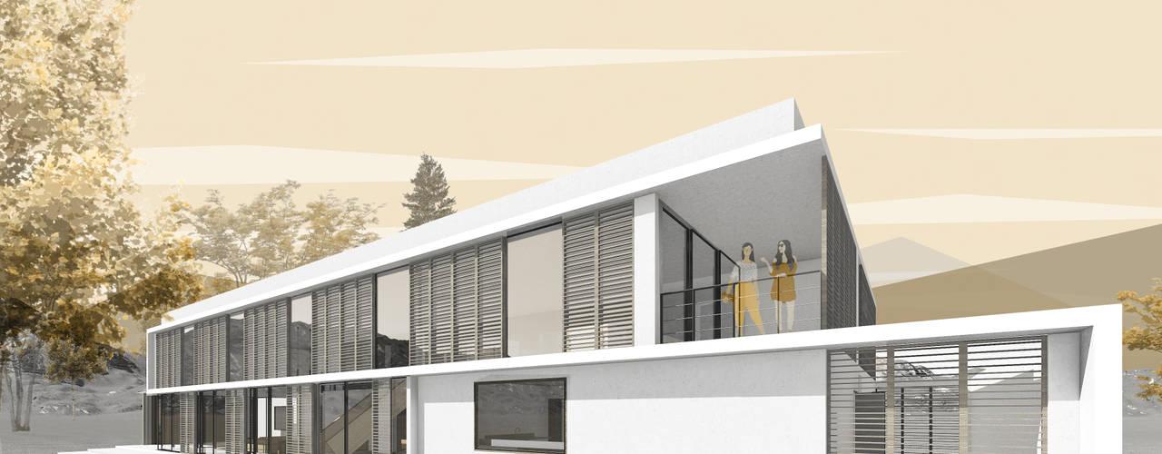 Casa Urquizar: Casas unifamiliares de estilo  por D01 arquitectura