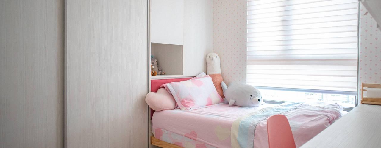 DUOLE 掇樂設計が手掛けた女の子部屋, モダン