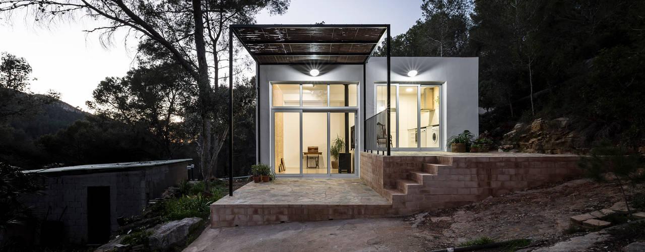 Casa en La Murta tambori arquitectes Casas de estilo mediterráneo Blanco