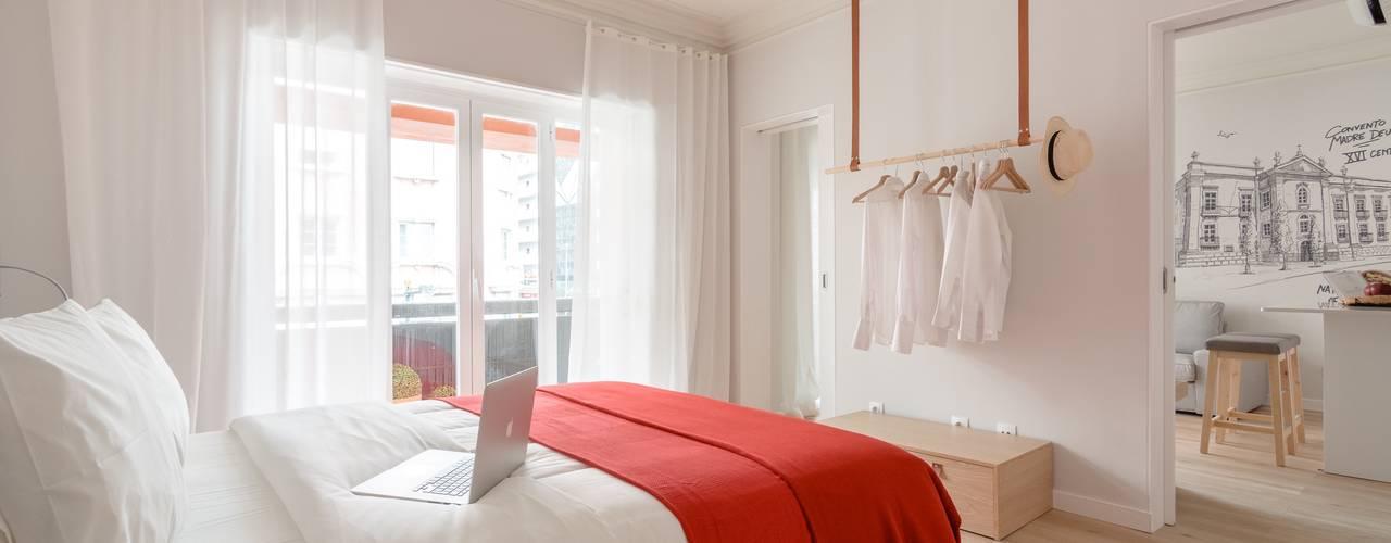 Apartamentos Turísticos em Lisboa Hotéis modernos por IN PACTO Moderno