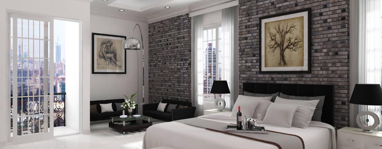 Remodelación Habitación Residencial Habitaciones modernas de A.BORNACELLI Moderno