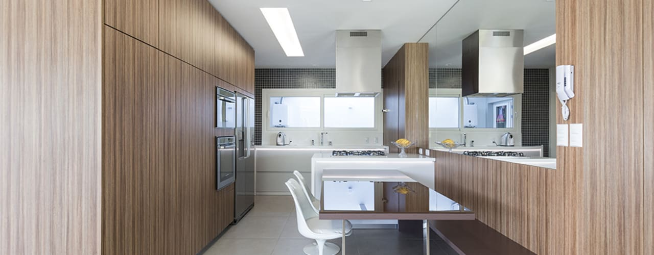 Cozinha Aberta Cozinhas modernas por Rabisco Arquitetura Moderno