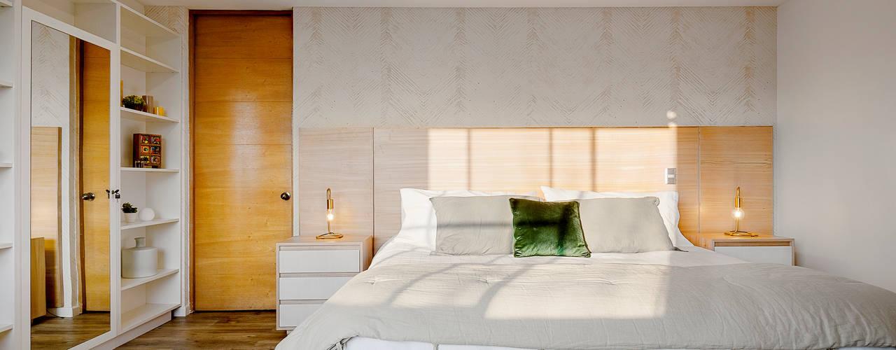 Klover Scandinavian style bedroom