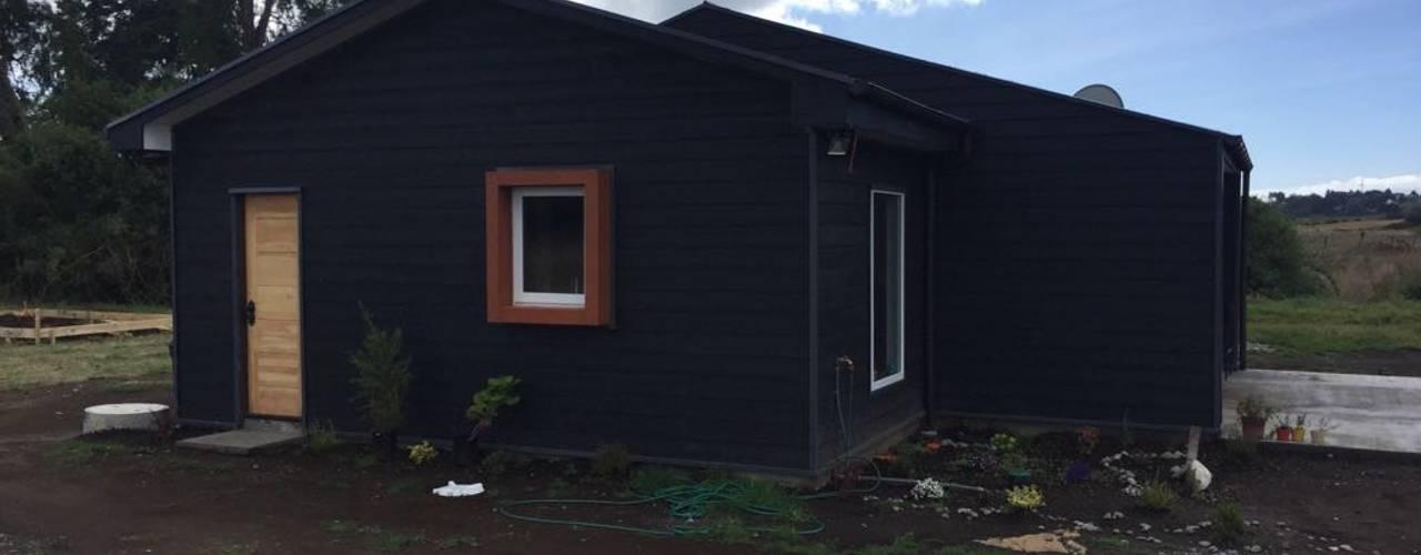 Construcción de Casa en Puerto Varas por CIVCO:  de estilo  por Civco Ltda