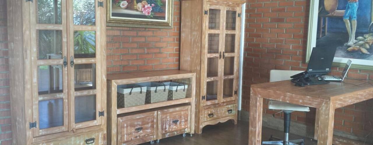 Ambientes lindos com os móveis Barrocarte na decoração de nossos cientes! por Barrocarte Rústico