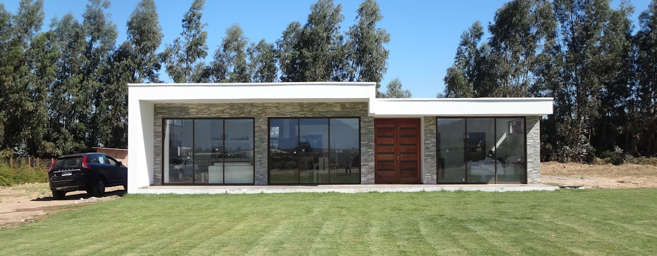 Vivienda Garrido por ARKITEKTURA: Casas unifamiliares de estilo  por ARKITEKTURA