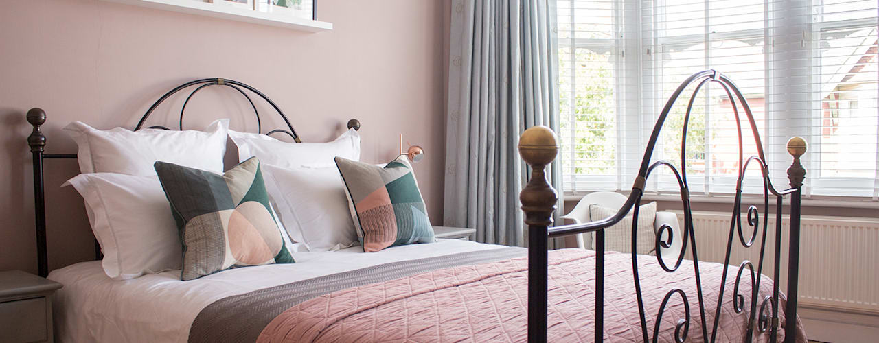 Bedroom refresh Modern style bedroom by Louise Misell Interiors Modern