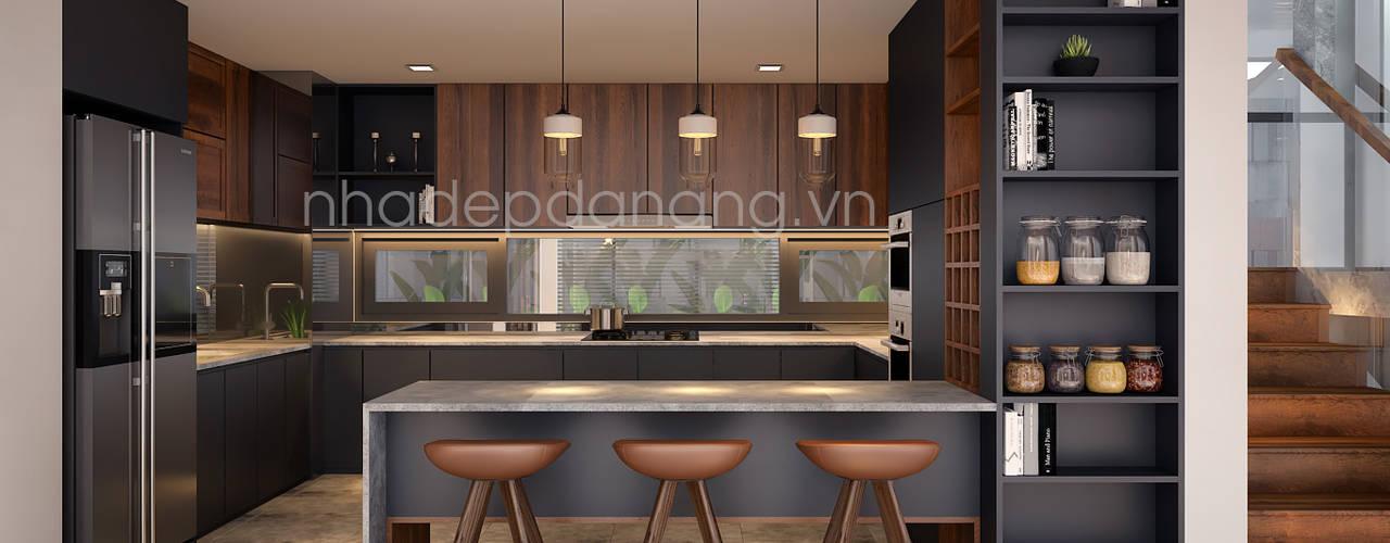 Modern Kitchen by AVA Architects Modern