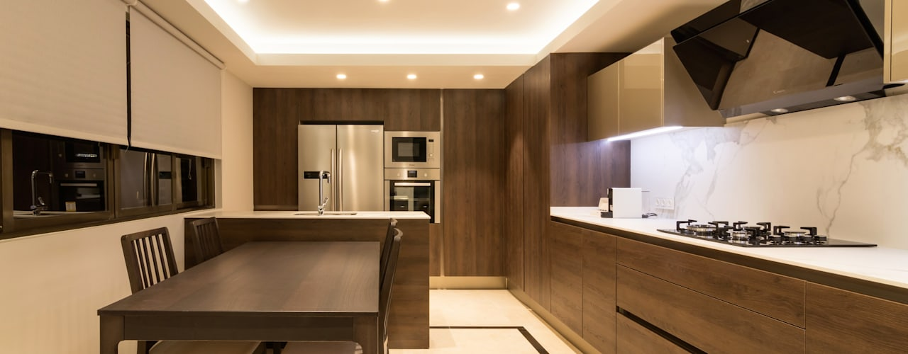 Built-in kitchens by Keinzo Interiores
