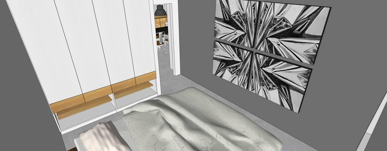 Depto FM:  de estilo  por MMAD studio - arquitectura interiorismo & mobiliario -,