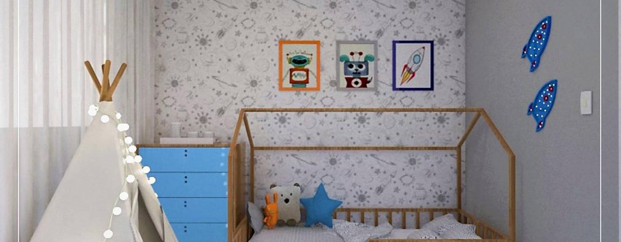 Dormitorios infantiles de estilo  por Pinus Arquitetura