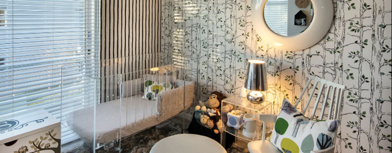 Children's Bedrooms :  Nursery/kid's room by Spegash Interiors, Eclectic