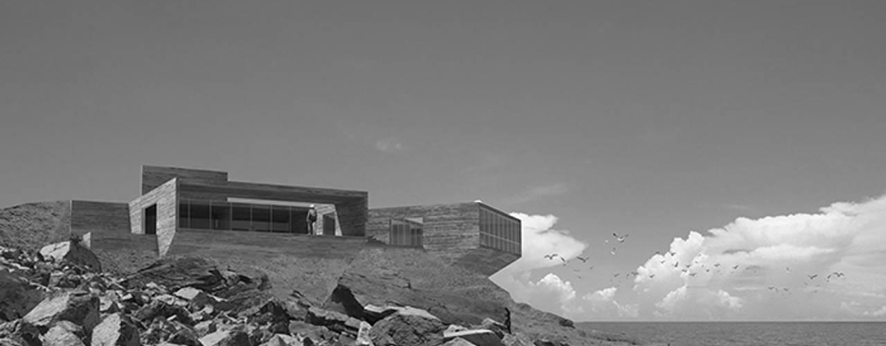 Casa de John & Yoko Casas estilo moderno: ideas, arquitectura e imágenes de mutarestudio Arquitectura Moderno