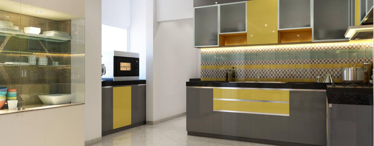 TUSCAN ESTATE Modern kitchen by Spaces Alive Modern