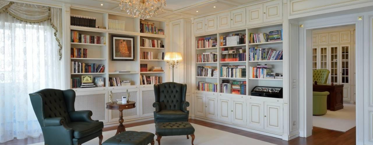 Appartamento classico a Bucarest Turati Boiseries Studio in stile classico Legno