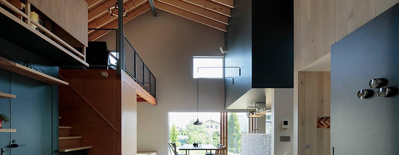 稲山貴則 建築設計事務所의  거실