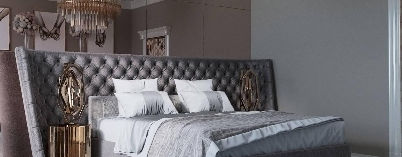 """Спальня """"Two hands"""" Спальня в классическом стиле от Татьяна Третьякова - дизайнер интерьера Классический"""