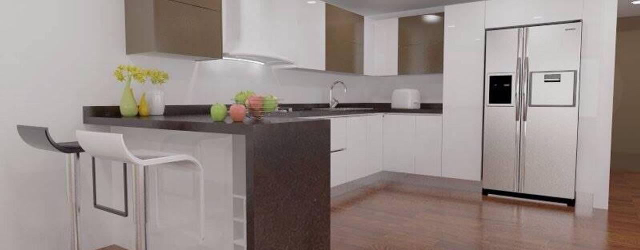 7 cocinas de diseño con forma de L