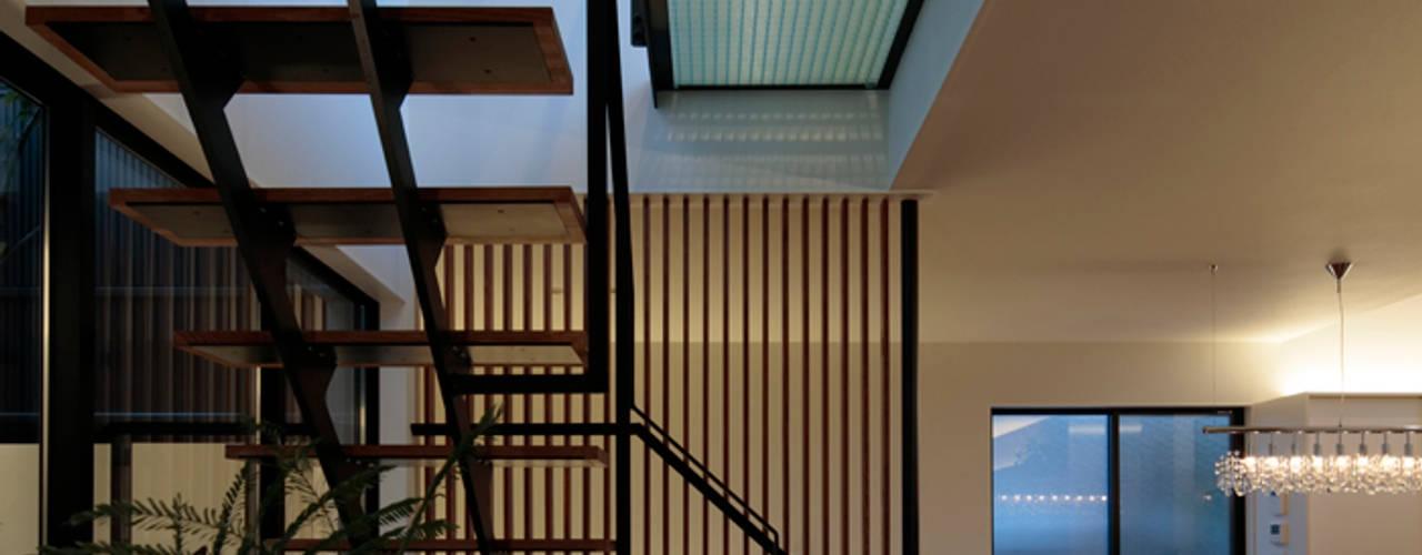 乾町の家: arc-dが手掛けた階段です。