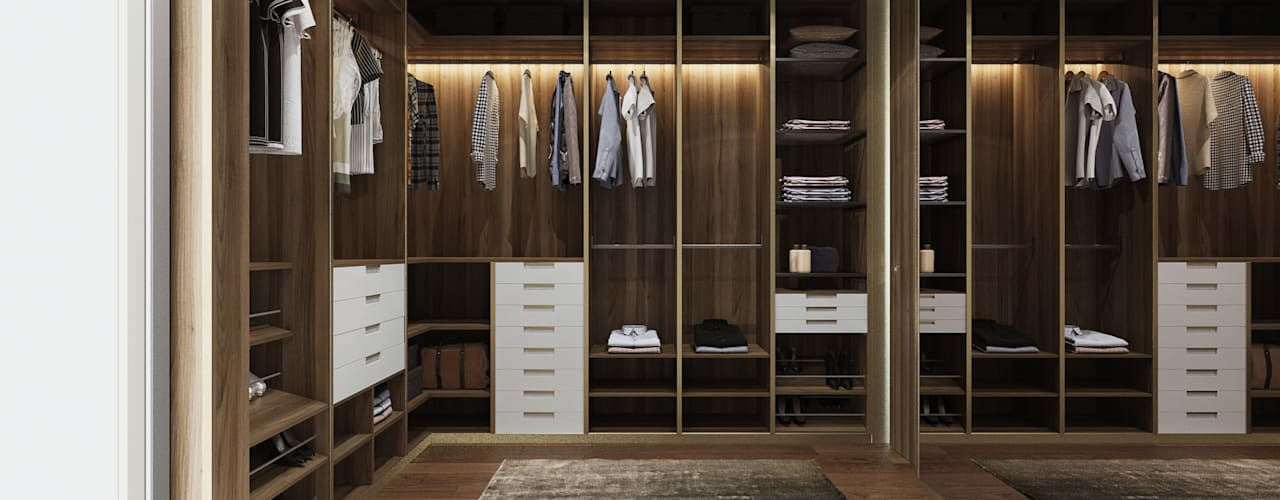 Modern dressing room by Esboçosigma, Lda Modern