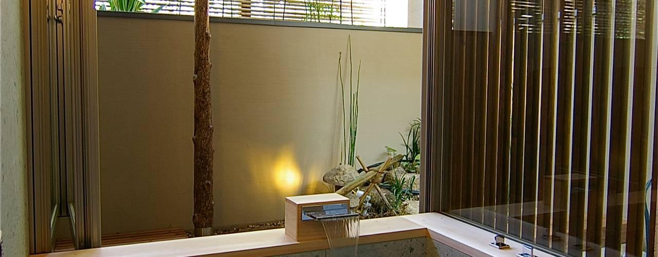 Baños de estilo  por Sデザイン設計一級建築士事務所, Ecléctico